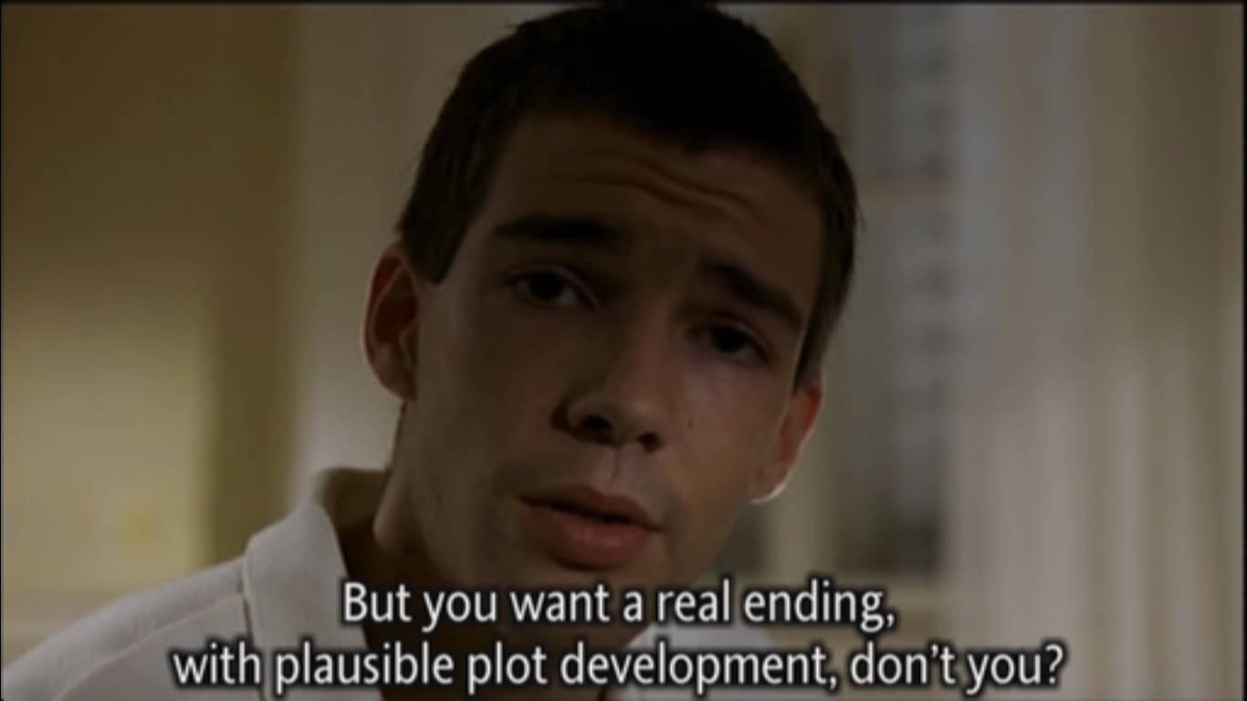 Arno Frish in Funny Games by Michael Haneke