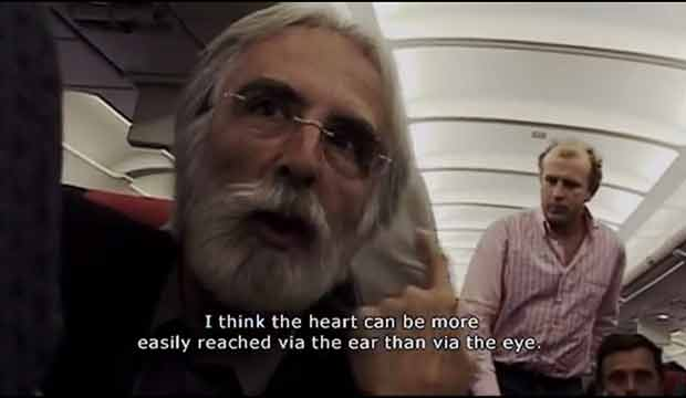 Michael Haneke Documentary. Haneke about sound.