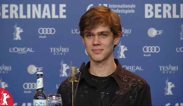 Ellar Coltrane Boyhood movie berlin festival press conference