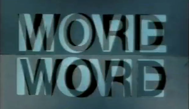 Paul Sharits Word Movie (1966)