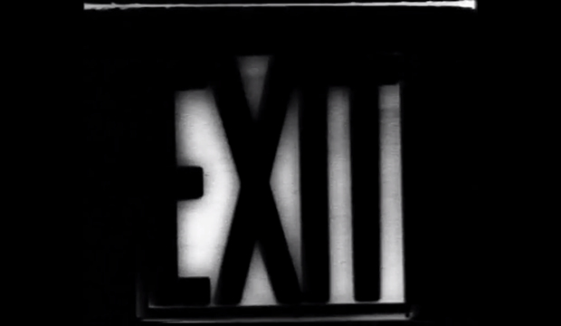 George Brecht Fluxus Entrance to Exit experimental film